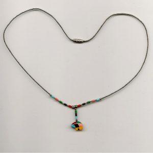 Tiny Bear Necklace 001