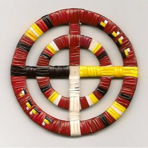 Medicine Wheel red 001