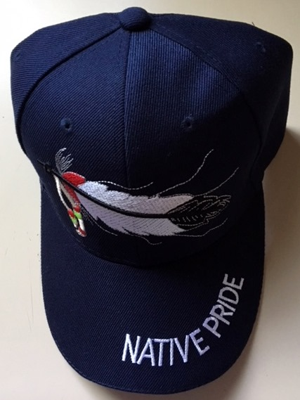 Baseball Cap – Native Pride – Eagle Feather – Native Rainbows 0d7a8da8a46